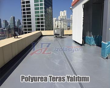 polyurea teras izolasyon