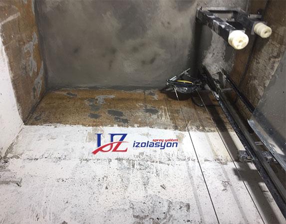 Asansör Kuyusu Su yalıtımı
