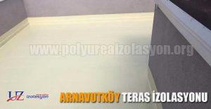 Arnavutköy teras izolasyonu
